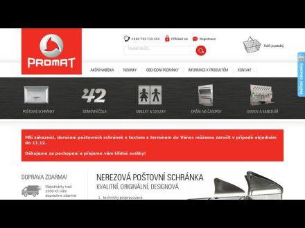 www.postovni-schranky-promat.cz