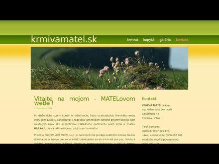 www.krmivamatel.sk