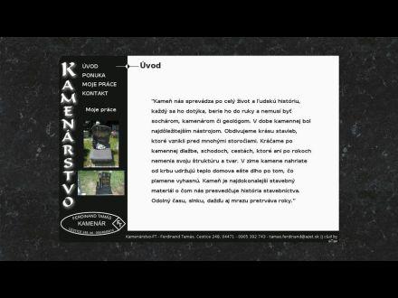 www.kamenarstvo-ft.sk
