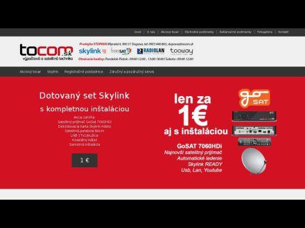 www.tocom.sk