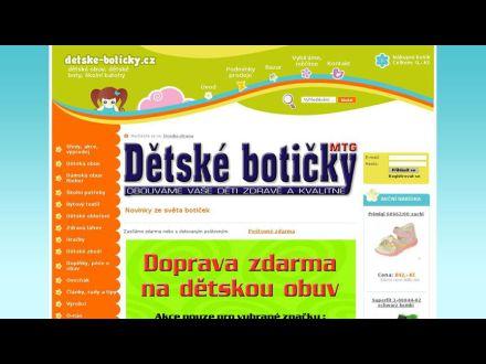 www.detske-boticky.cz