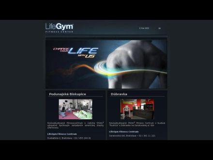 www.lifegym.sk