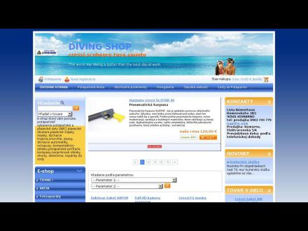 www.diving-shop.sk