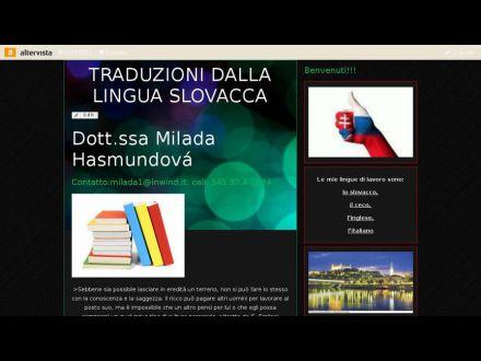 www.traducoslovacchia.altervista.org