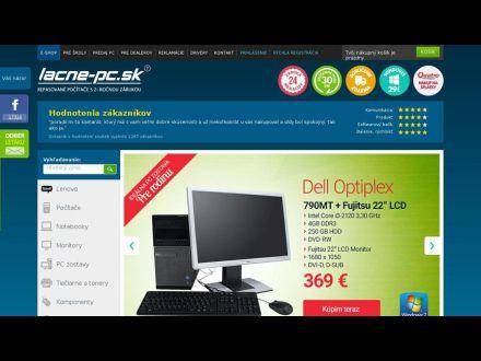www.lacne-pc.sk