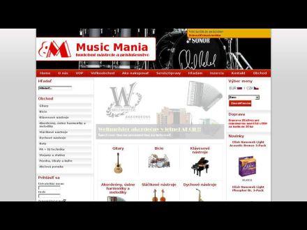 www.music-mania.sk