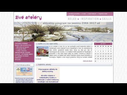 www.ziveateliery.sk