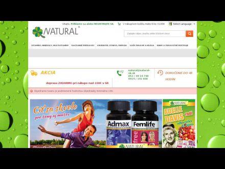 www.natural-sk.sk