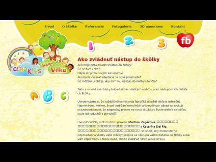 www.skolkavilka.sk