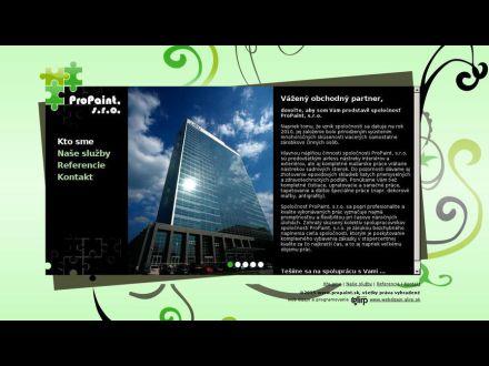 www.propaint.sk
