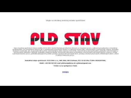 www.pldstav.sk