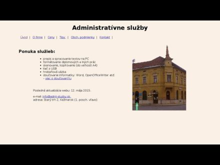 www.admi-sluzby.sk
