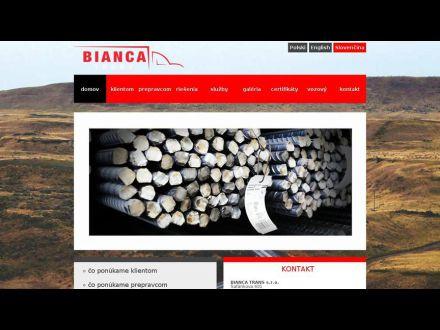 www.biancatrans.sk