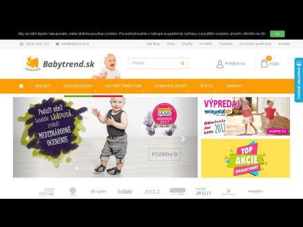 www.babytrend.sk