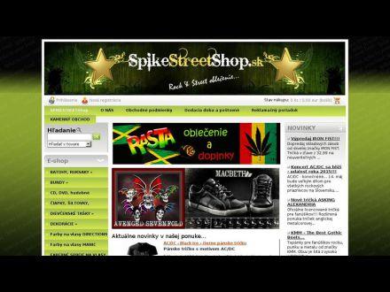 www.spikestreetshop.sk