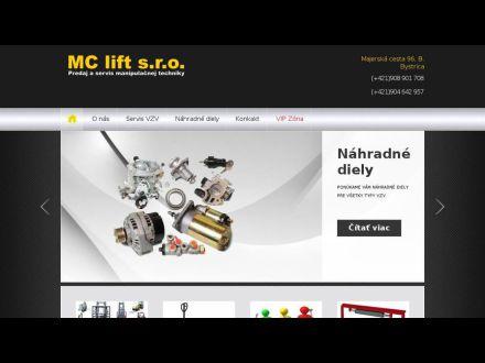 www.mclift.sk