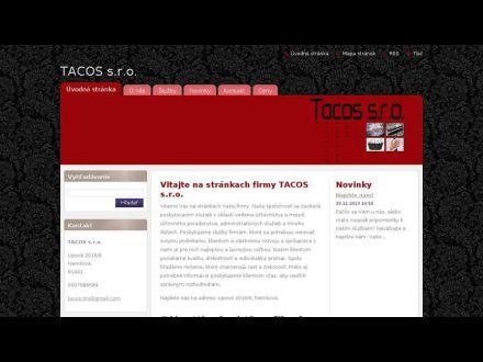 www.tacos-s-r-o.webnode.sk