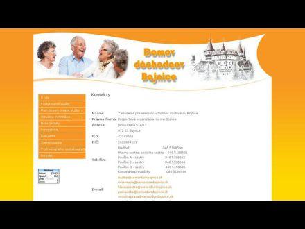 www.seniordombojnice.sk