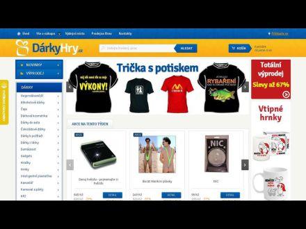 www.darkyhry.cz