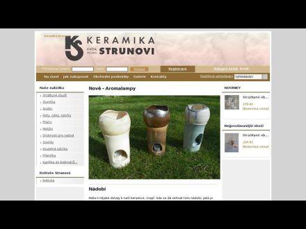 www.keramikastrunovi.cz