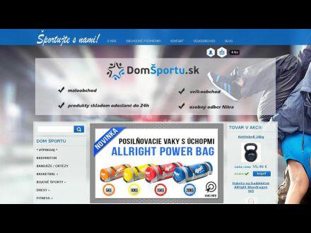 www.domsportu.sk