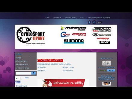 www.cyklosportlipany.sk