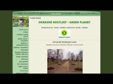 www.greenplanet.wbs.cz