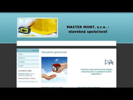www.mastermont.sk