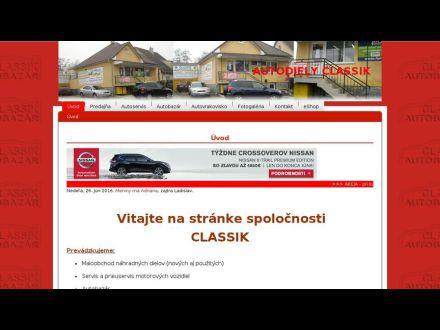 www.autodielyclassik.sk