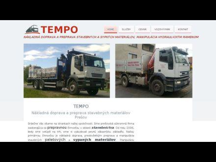 www.tempo-doprava.sk