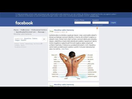 www.facebook.com/MasaznySalonHARMONY