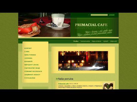 www.primacialcafe.eu
