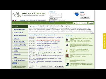 www.myslivecky-obchod.cz