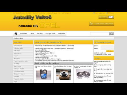 www.autodilyvakoc.cz