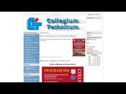 www.collegiumtechnicum.tuke.sk