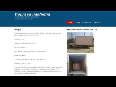 www.doprava-nakladna.sk