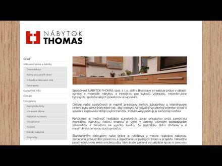 www.nabytok-thomas.sk