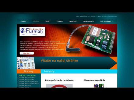 www.elektronikafurman.sk