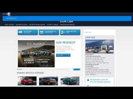 www.lioncar.peugeot.sk