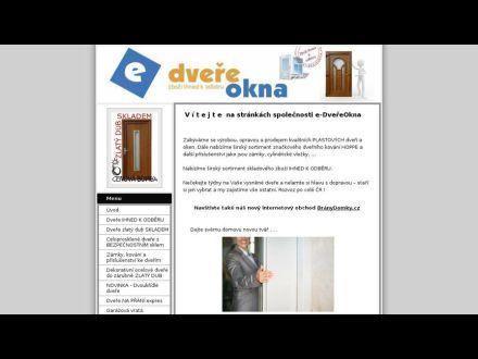 www.e-dvereokna.cz