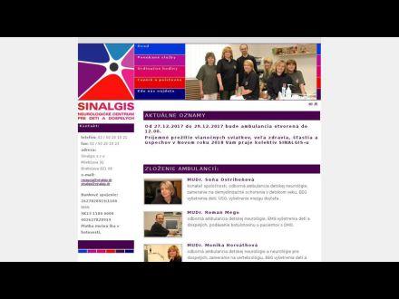 www.Sinalgis.sk