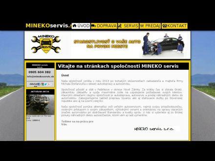 www.minekoservis.sk