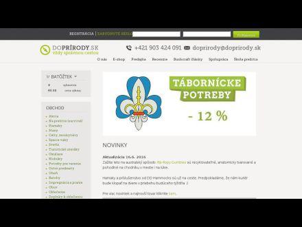 www.doprirody.sk