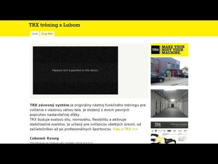 www.trxtreningslubom.sk