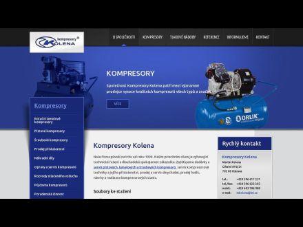 www.kompresorykolena.cz