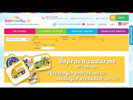 www.fajnhracky.sk