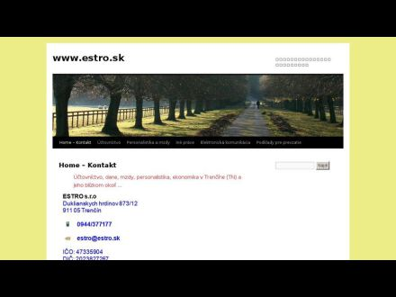 www.estro.sk