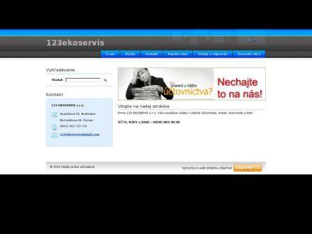 www.123ekoservis.webnode.sk