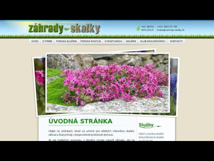 www.zahrady-skalky.sk