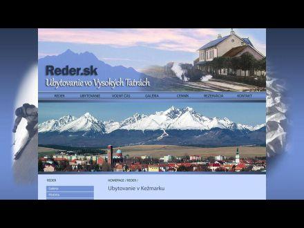www.reder.sk